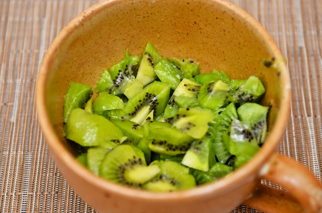 Kiwi fruit- fruit - exotique - dessert - coulis - cream - Exotic fruit - Kiwi - Cuisine - Cook - Cooking - Food - Foodie
