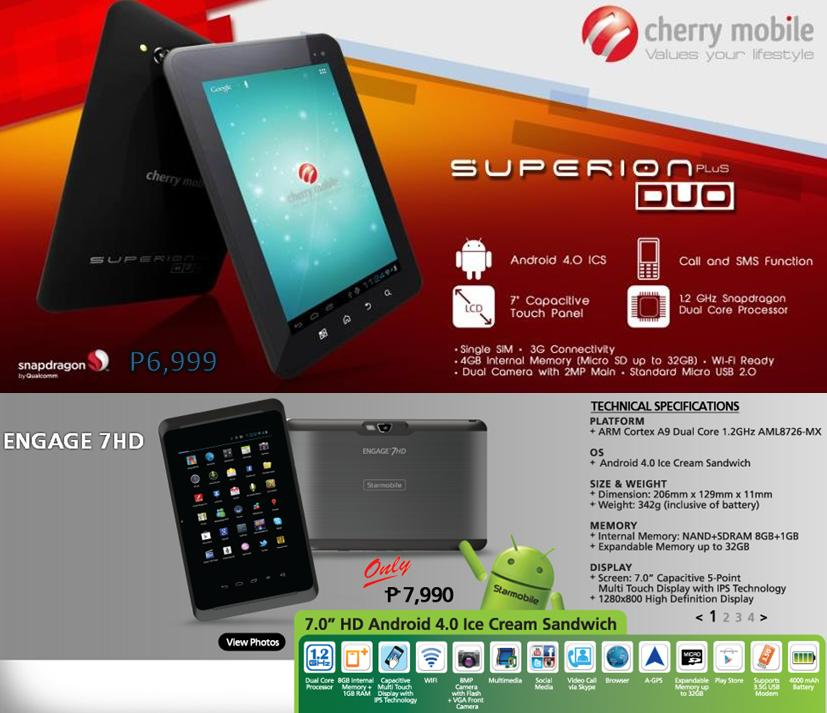 Ion Super Tablet Ion Cherry Mobile