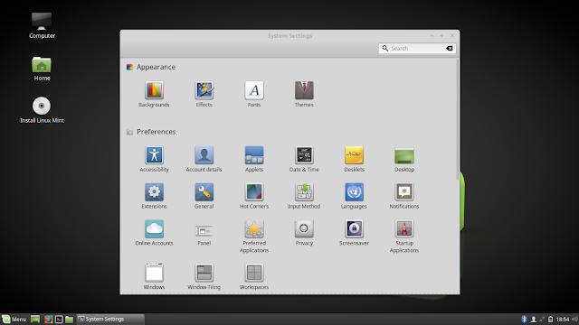 Distro Linux Mint