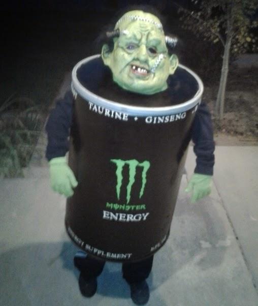 Monster Energy Drink Monster Halloween Costume