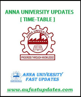Anna University Timetable 2017 May June 2017 UG PG 2nd 4th 6th 8th Semester 2017 Timetable