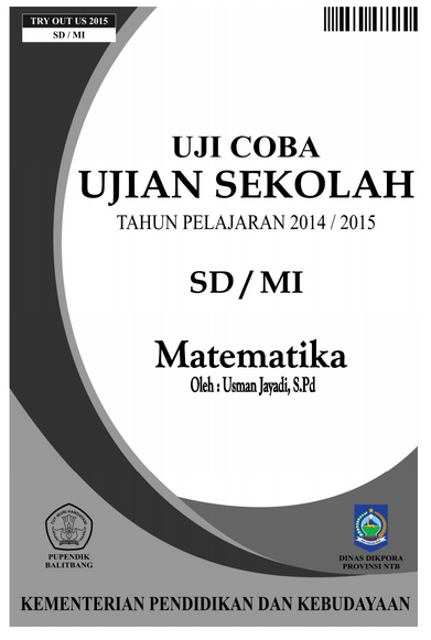 Fourth image of Try Out Ujian Nasional Smp Sederajat with Kisi-Kisi UN (Ujian Nasional) SD 2015 dan Prediksi Soal UN ...