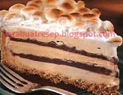 Foto Resep Kue Bolu Lapis Es Krim (Ice Cream Cake) Sederhana Spesial Asli Enak