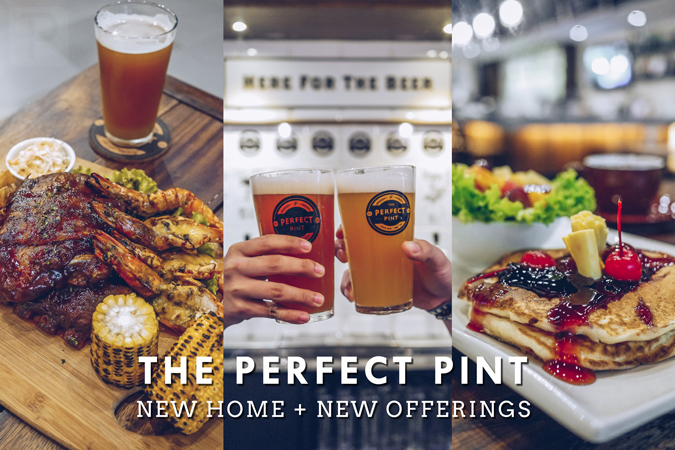 The Perfect Pint: New Home, New Offerings