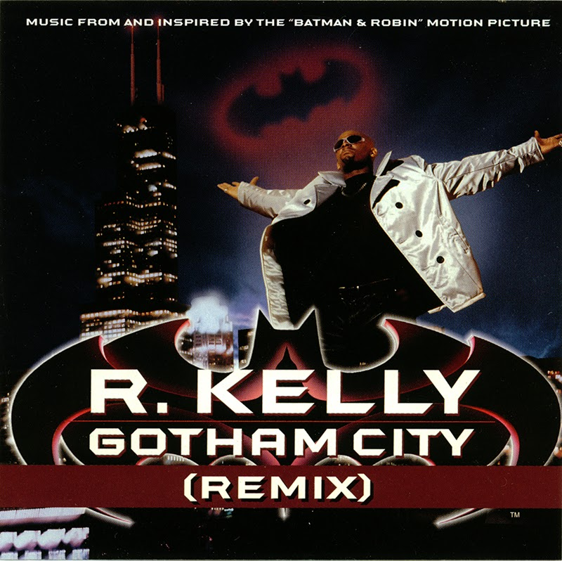 Promo import retail cd singles albums r kelly gotham city remix cd single 1997 - Welcome to the ghetto instrumental ...