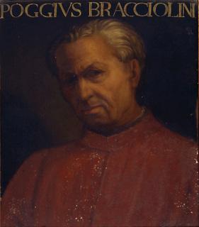 The linguist and scholar Poggio Bracciolini was born in a village near Arezzo in Tuscany