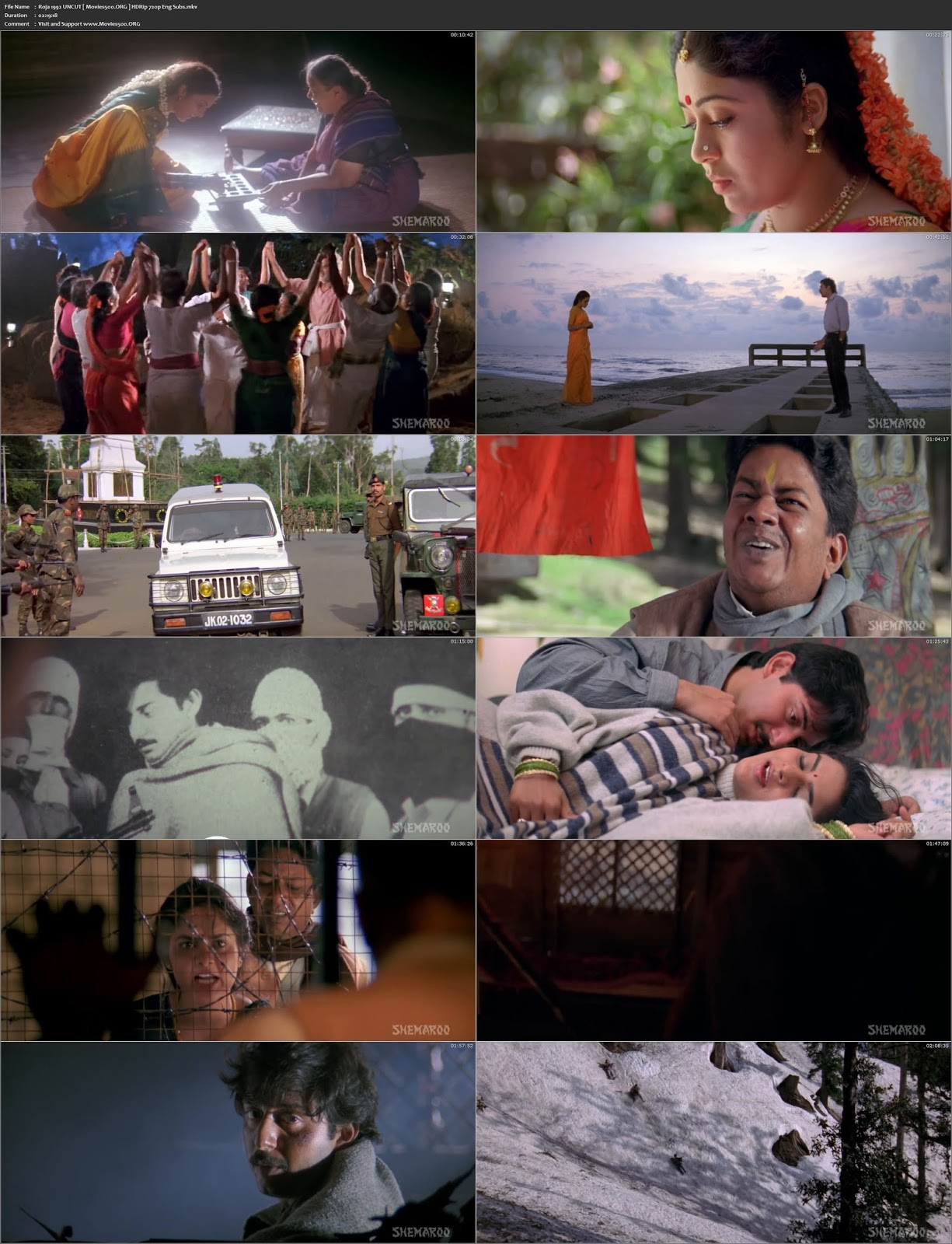 Roja 1992 Dual Audio Hindi Download HDRip 720p ESubs at movies500.site