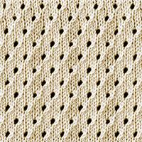 Eyelet lace 26: Staggered Eyelet | Easy to knit #knittingstitches #knittingpatterns