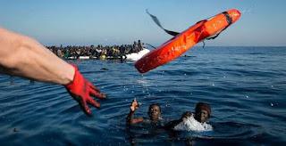 فقدان 117 مهاجرا قبالة السواحل الليبية !