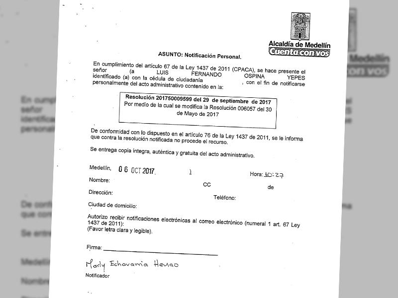 Autorizado - Permiso para las comunas