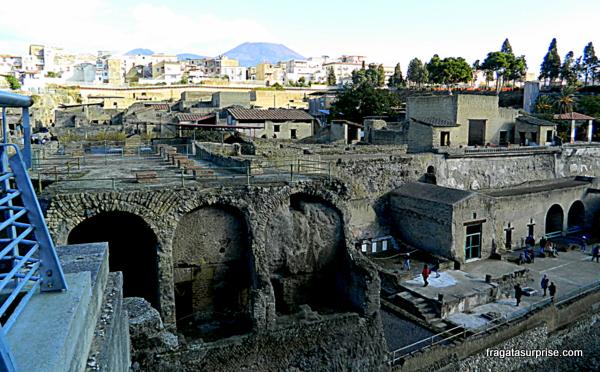 Ruínas de Herculano, Itália