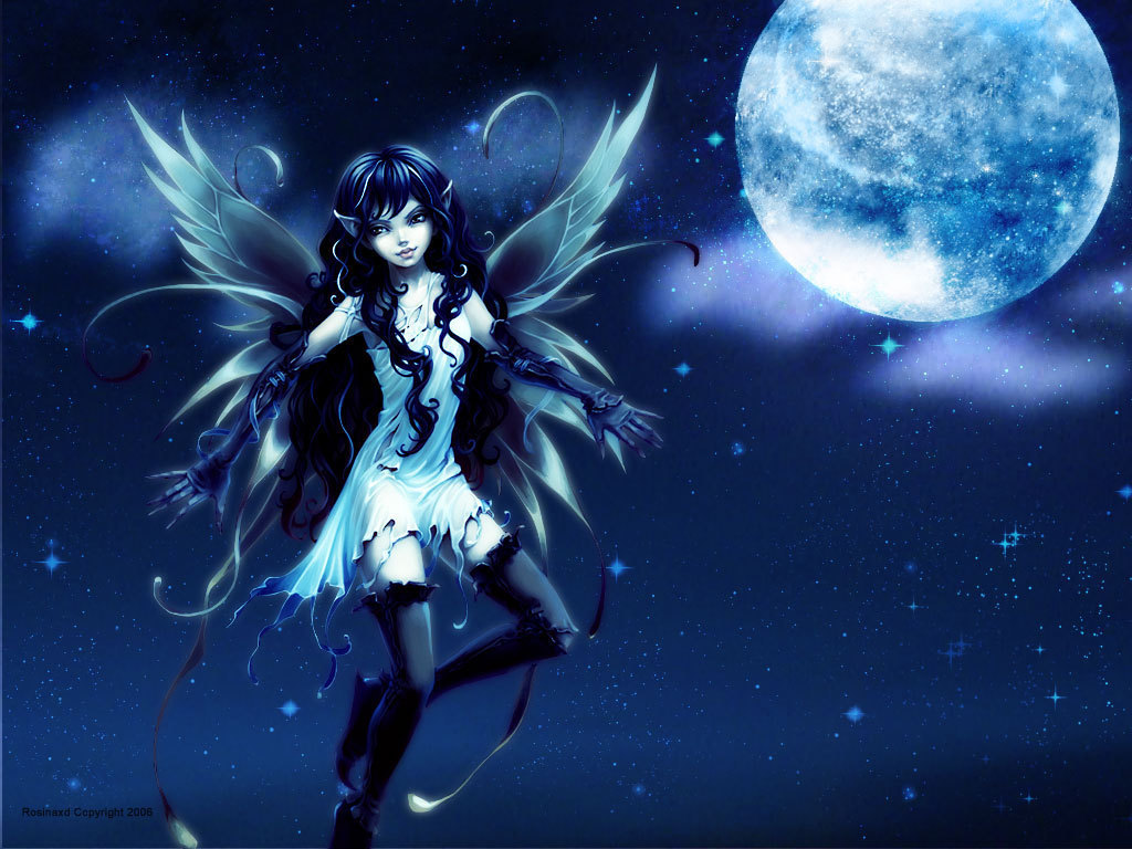 See To World Anime Dark Angel Wallpaper