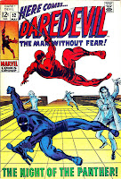 Daredevil v1 #52 marvel 1960s silver age comic book cover art by Barry Windsor Smith