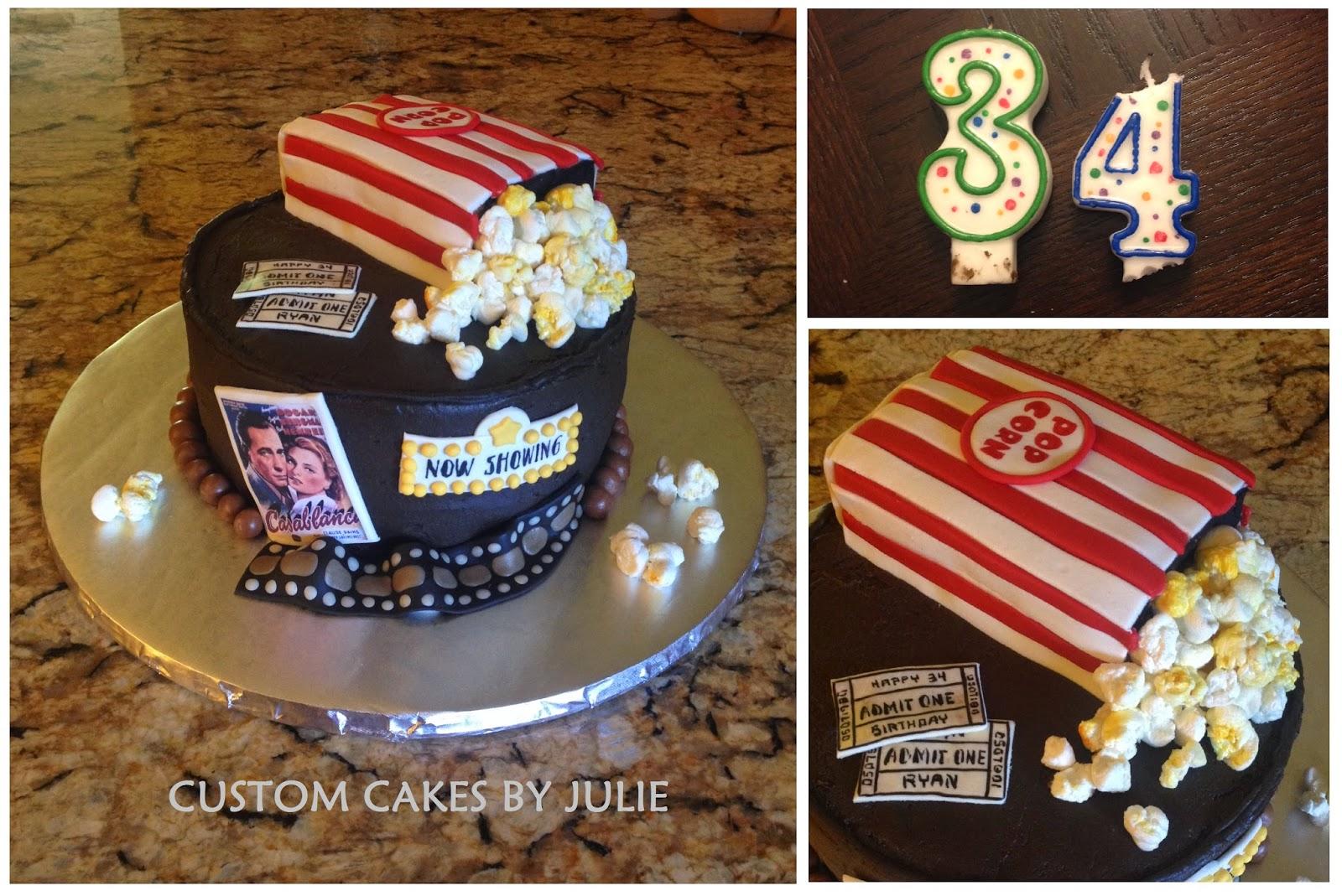 Popcorn Cakes Birthday Cakes