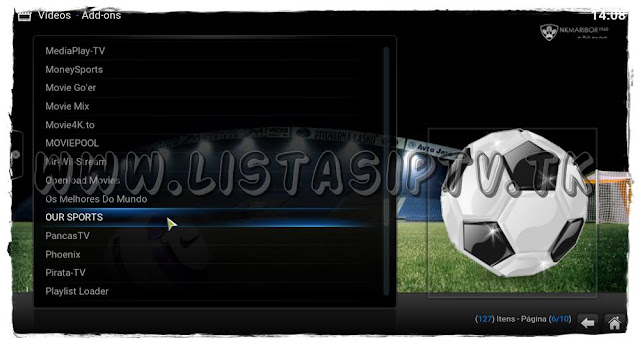 "Como Instalar o Add-on ""Our Sports"" no KODI"