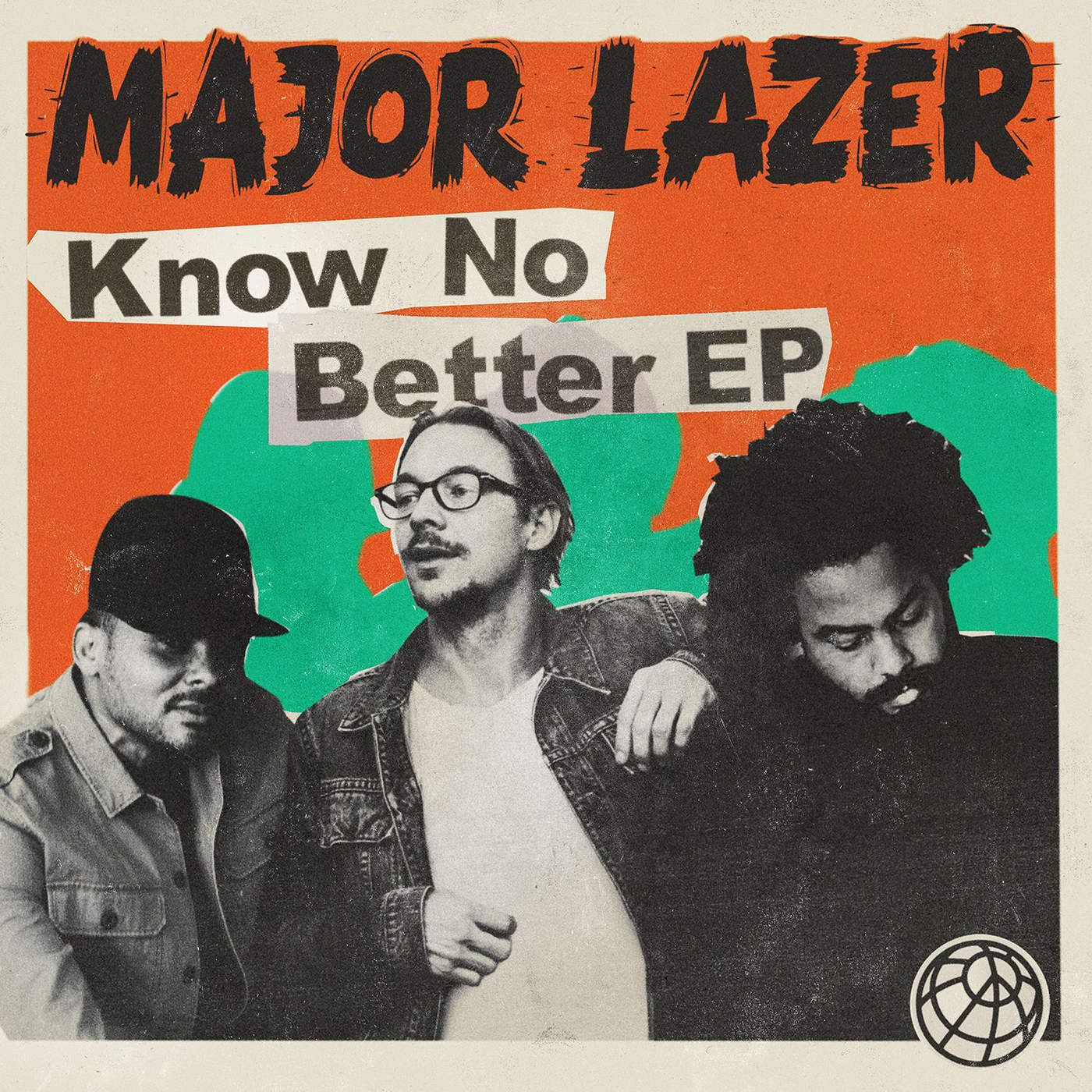 Major Lazer - Know No Better - EP Cover