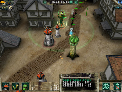 Master of Defense Game Screenshot 2006