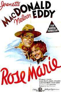 Cartel, Carátula, Cover, dvd:  Rose Marie| 1936 | Ten Wanted Men