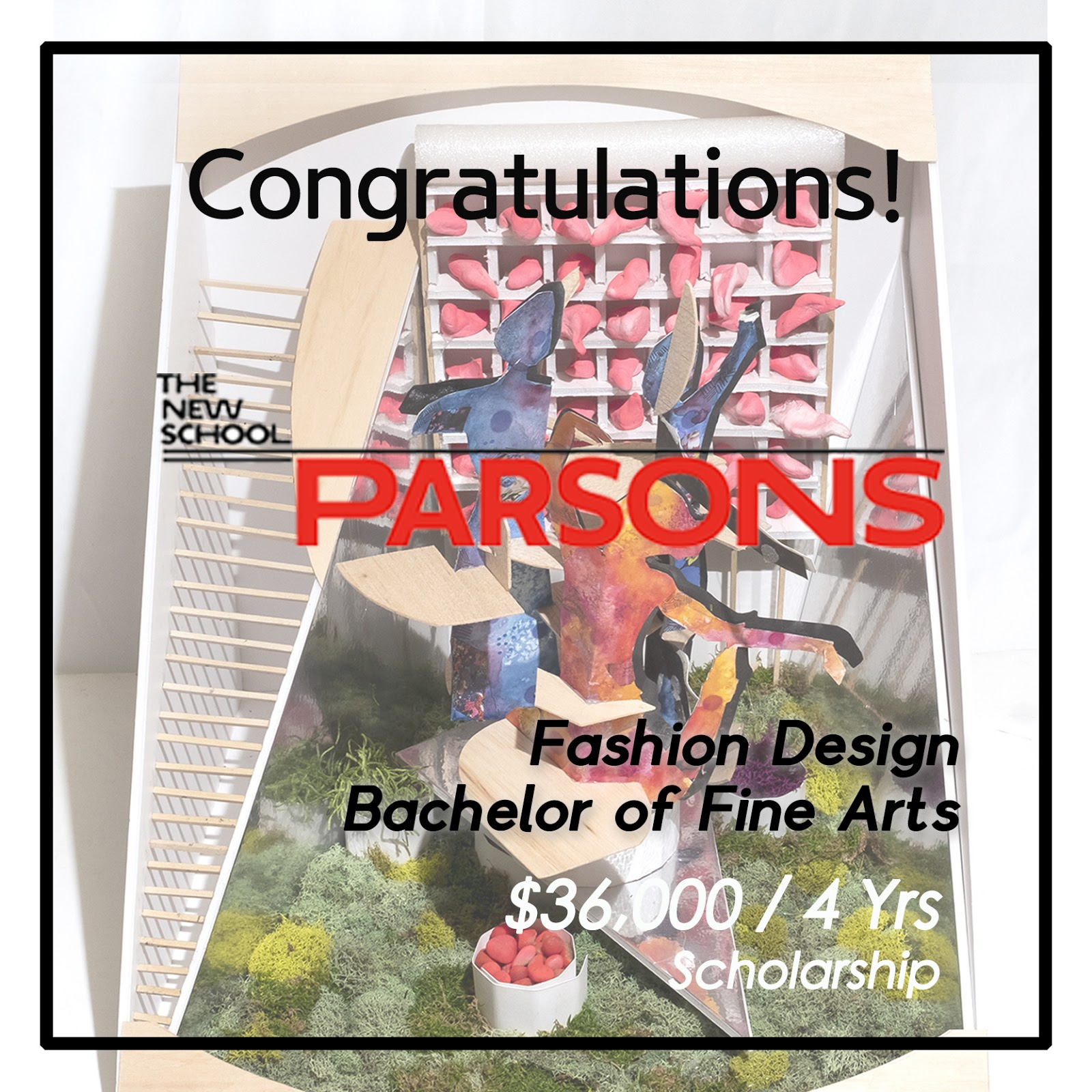 Accepted To Parsons Bfa Fashion Design Best Online Art Courses New York Art Studio