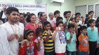 Devanshi Rana wins Gold Medal in South Delhi Open Shooting