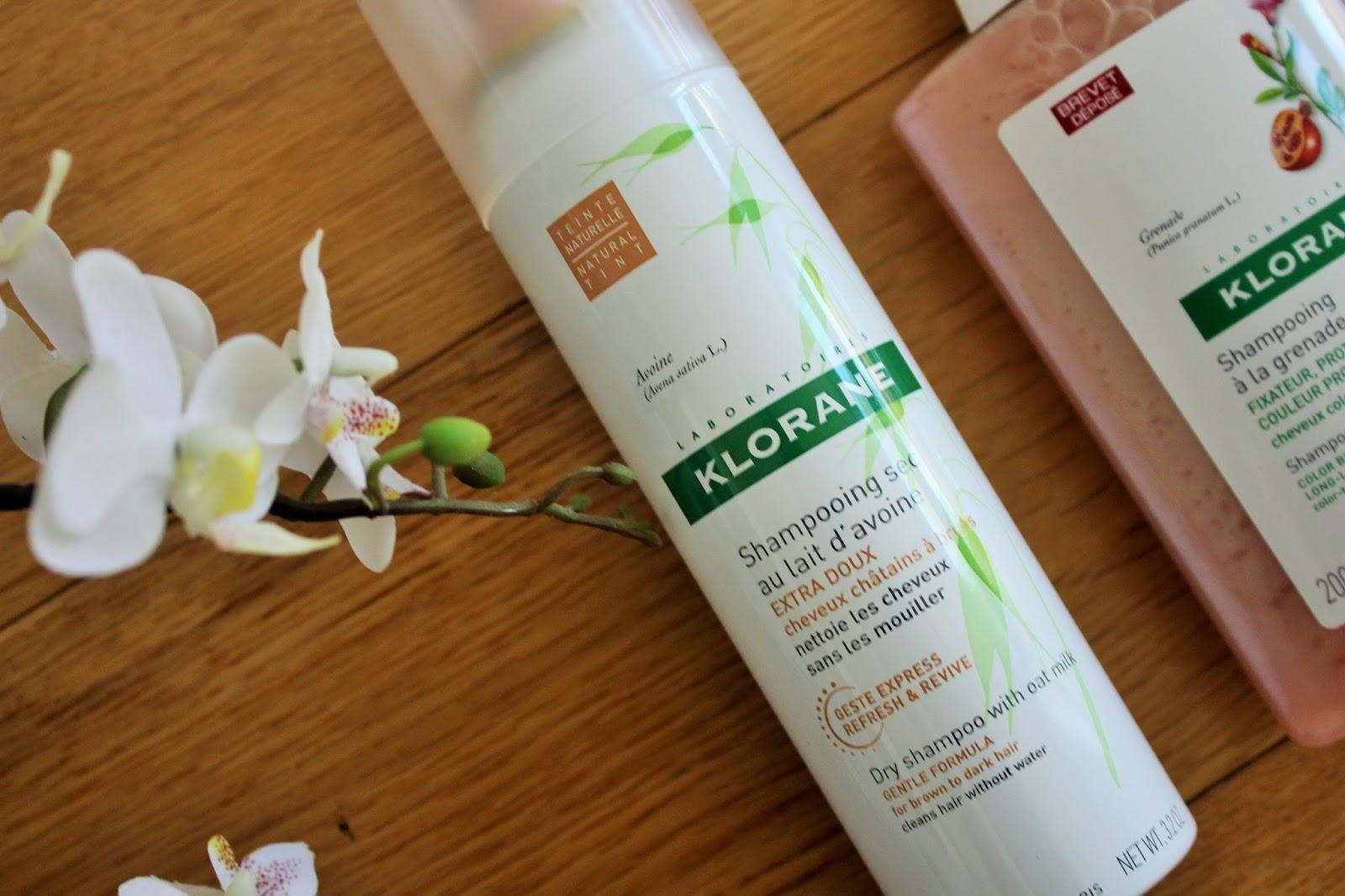 Klorane Shampoos 3 - Dry Shampoo with oat milk