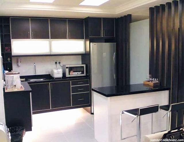29 Gambar Dapur Minimalis Modern Ukuran 2x3 Trendi 2017
