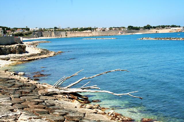 spiaggia, mare, litoranea, cielo, scogli