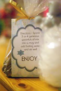 Organized Christmas Hot chocolate
