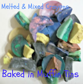 How to make homemade melted crayon shapes diy