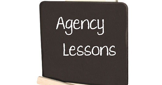 Sarah Negovetich: Agency Lesson: It not you, really it's not
