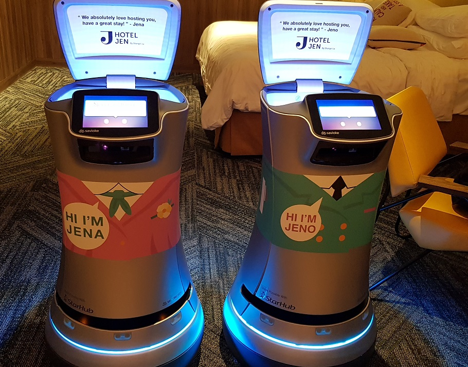 Resultado de imagen para robot de hotel