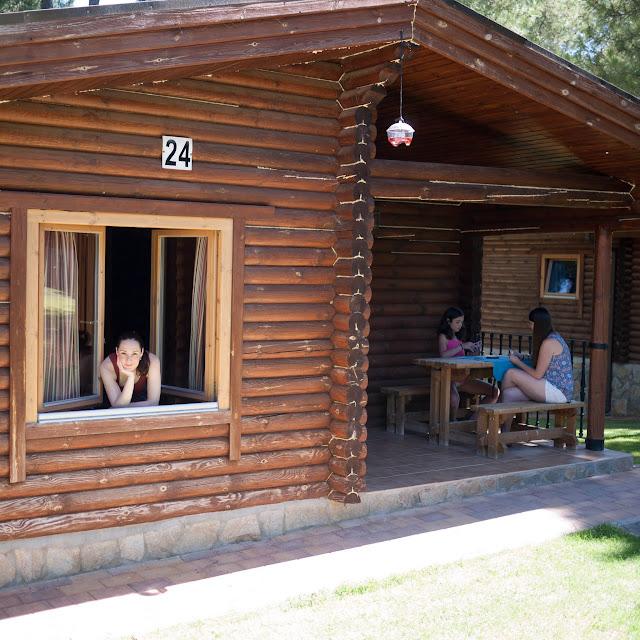 En nuestra cabaña nórdica del Camping Cuenca