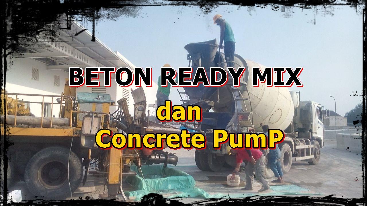 harga beton cor murah ready mix dan sewa pompa beton