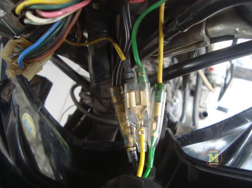 Rangkaian Kabel Lampu Depan Jupiter Z