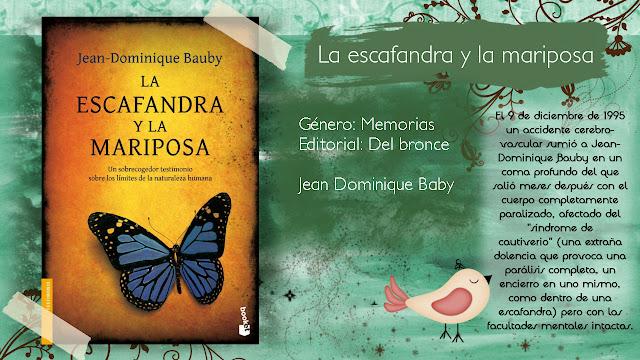 La escafandra y la mariposa - Jean Dominique Bauby