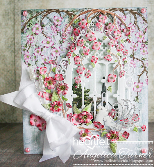Flowering Dogwood Window Card