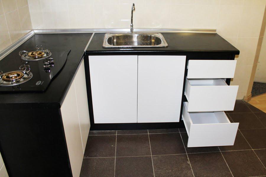 Kabinet Dapur Moden Untuk Ruang Kecil Desainrumahid