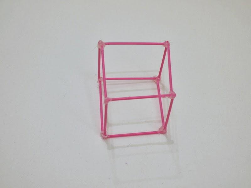 DIY Cubic bubble maker