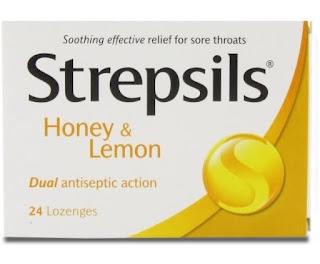 Viên ngậm Strepsils