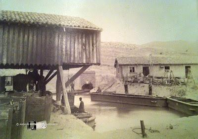 Foto de la salida del canal de Orbó