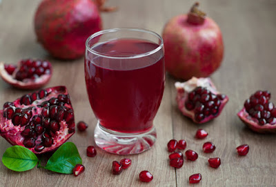 pomegrante juice