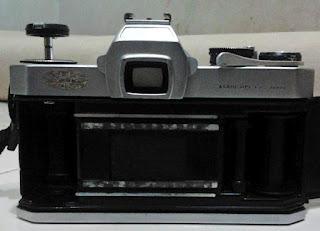 Bagian dalam Asahi Pentax Spotmatic