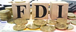 5 సంవత్సరాల కనిష్టానికి FDI వృద్ధి
