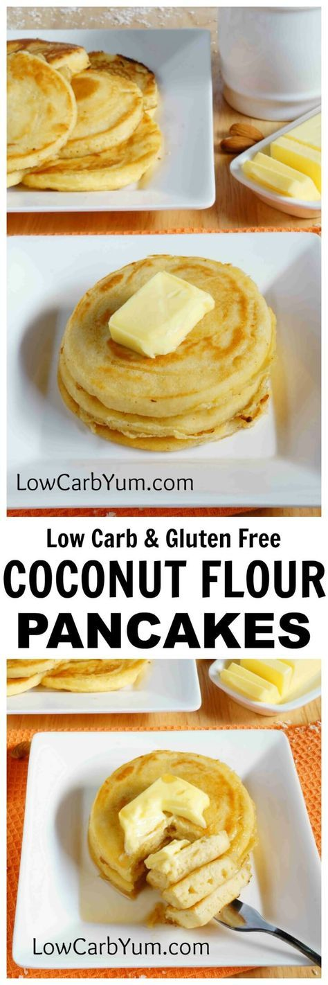 Low carb coconut flour pancakes favours food this easy recipe for fluffy gluten free pancakes is a tasty breakfast treat enjoy these low carb pancakes with your favorite low carb syrup or eat them ccuart Gallery