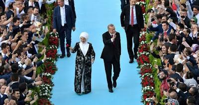 Erdoğan Resmi dilantik Menjadi Presiden Turki