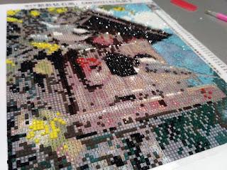 алмазная мозаика,  покупка с али, картина стразами, настроение своими руками,  Яна SunRay, алиэкспресс, покупки из китая,  вышивка, картина, 3д стразы