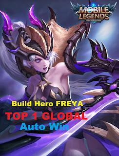Build Hero Freya Mobile Legends