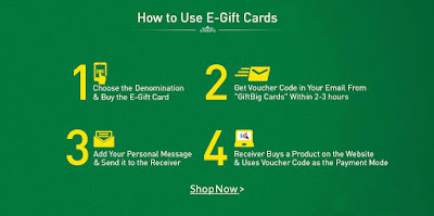 Snapdeal How to Use E-gift Card