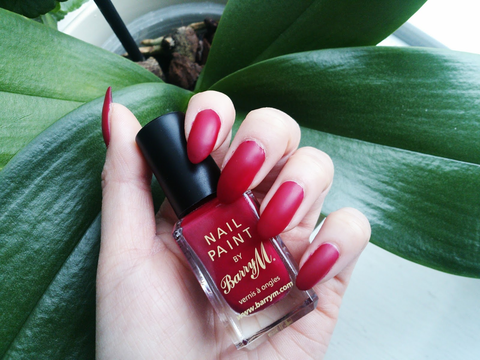 That\'s Linda ♡: Red Nails, Matte vs Glossy