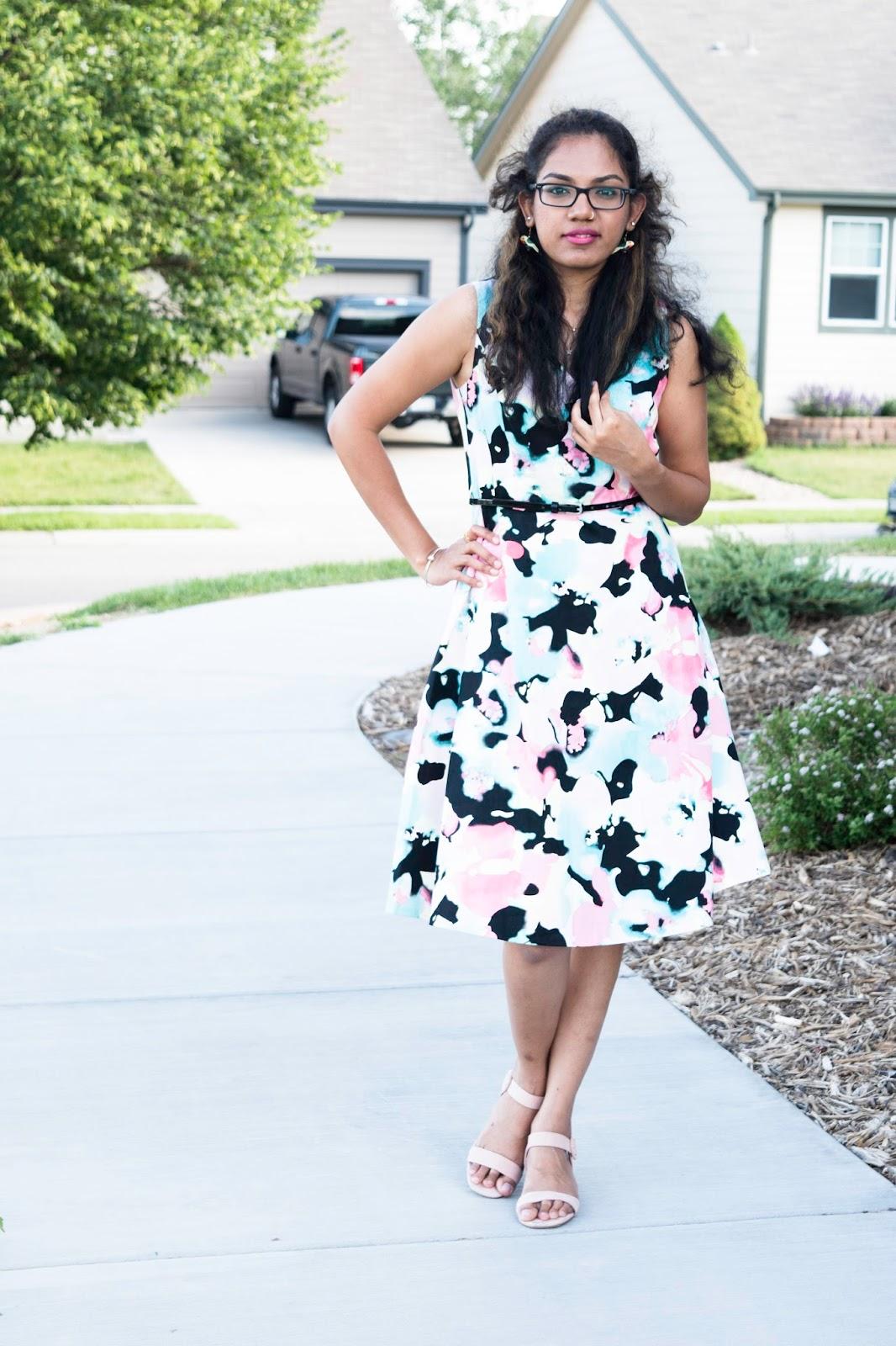 eclatant-floral-dress
